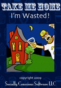 take me home I'm wasted app