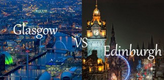Glasgow vs Edinburgh