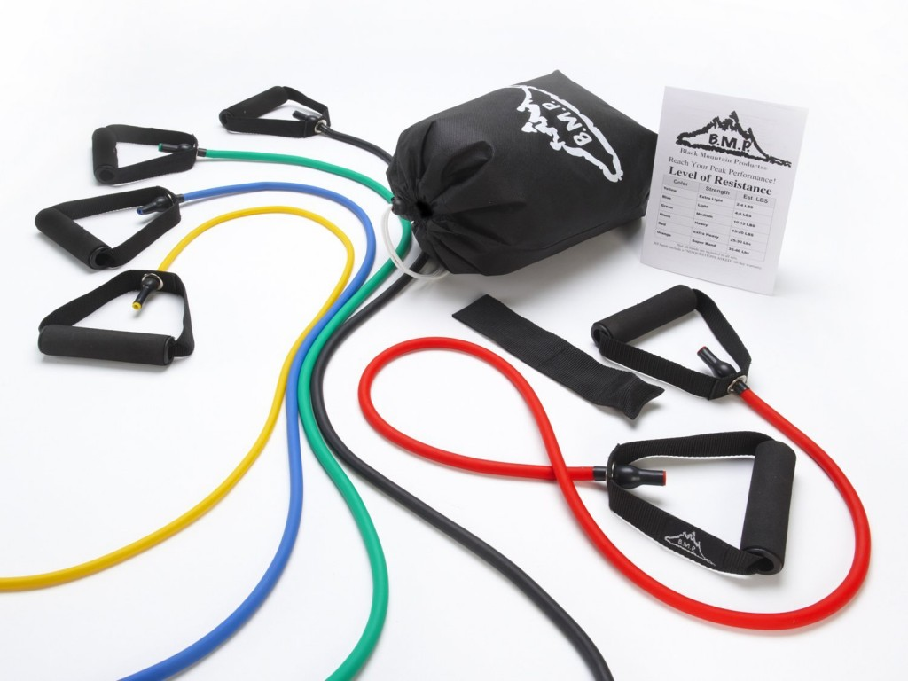 Black mountain resistance bands