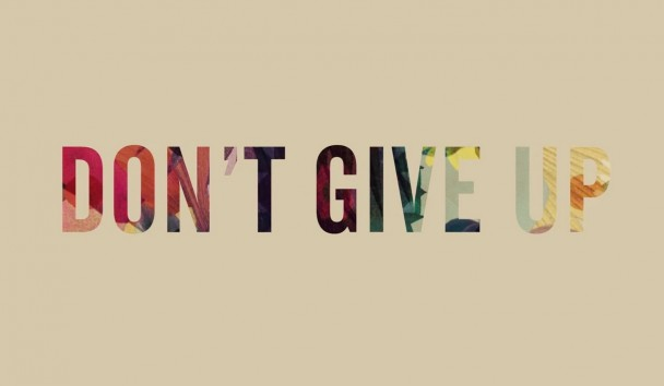 dont give up quote