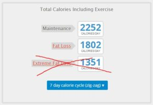 mantenience fat loss and gain