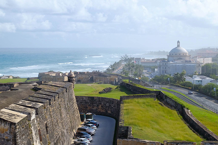 Old San Juan from San Cristobal (Photo: Michelle Rae)